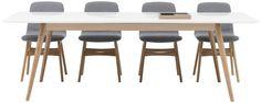 Tables de repas extensibles, tables design BoConcept
