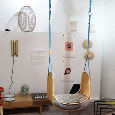 D' days - Galerie Saint Joseph  #ddays #ddays15 #festivaldudesign #galeriejoseph #deco #design #interior #inspiration #inspo #balancoire #rotin #marais #paris