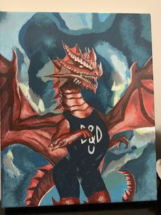 Done for my father, a D&D and wrestling fan. Canvas Art, Canvas Prints, My Father, Dungeons And Dragons, My Arts, Wrestling, Artwork, Painting, Design