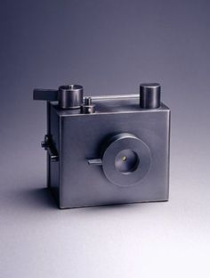 silver crafted pinhole camera.Jewellery making meets industrial design by Hyun-seok Sim.