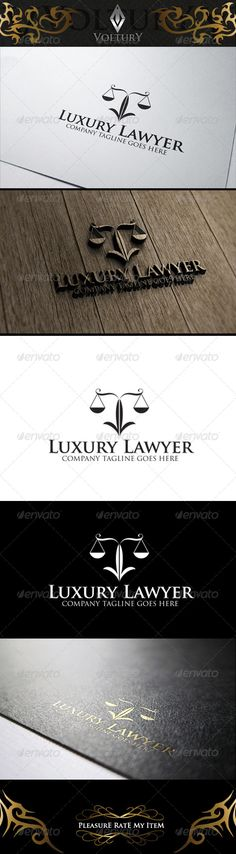 Luxury Lawyer Logo