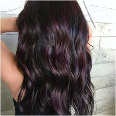 Are you looking for dark winter hair color for blondes balayage brunettes? See our collection full of dark winter hair color for blondes balayage brunettes and get inspired! Bold Hair Color, Hair Color Highlights, Hair Color Balayage, Dark Red Balayage, Color Red, Black Hair With Red Highlights, Blonde Ombre, Caramel Highlights, Dark Blonde