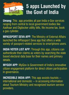 important apps launched by govt. of india File Income Tax, General Knowledge Book, Computer Books, Past Papers, Entrance Exam, Animal Books, Science News, Textbook, Did You Know