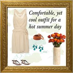 """""""Hot summer day outfit"""" by cbslifestylist on Polyvore"""
