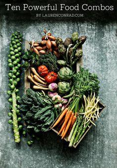 Tuesday Ten: Powerful Food Combos