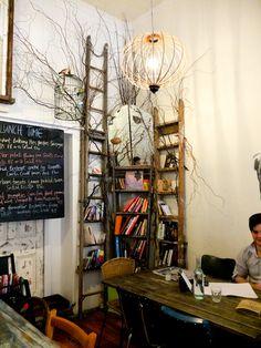 Kinfolk cafe, Melbourne, cafe with a good cause.