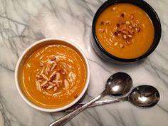 nesscooks: Mum's Pumpkin Soup Pumpkin Soup, Healthy, Ethnic Recipes, Food, Butternut Squash Soup, Squash Soup, Health, Meals, Summer Squash Soup
