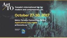 Applications Open for Art Toronto 2017