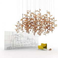 Wicker Branches | New Ideas | Yellow Goat Design - Custom Lighting