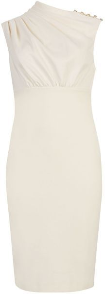 Ted Baker London Bridie Sculpted Pleated Dress - Lyst