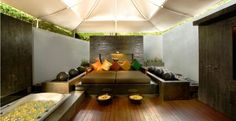 Inside the Kayana Villas, Bali