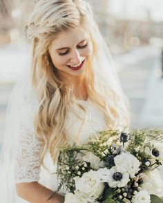 "Lexilocks Hair (@lexilockshair) on Instagram: ""I just LOVE looking at these photos from @sammi_renee1 wedding a few months back!…"""