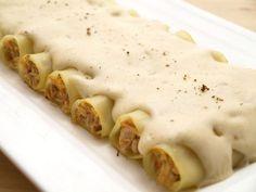 Canelones de pollo y setas | MisThermorecetas | Bloglovin'