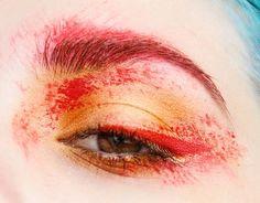 Harry Potter inspired makeup look