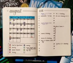 Ready for next month. A little sparse at the moment, but we'll see what it has…