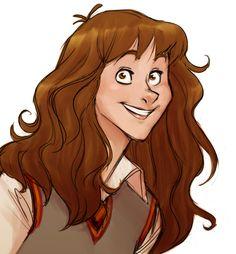 Hermione Granger, Harry Potter Fan Art by Alex Roman