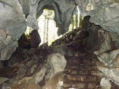 Upana Caves. Gold River BC Main Cave Entrance Cave Entrance, Gold River, Vancouver Island, Caves, Nature, Pictures, Photos, Naturaleza, Photo Illustration