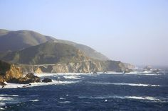 Highway One seen from Rocky Point, Big Sur