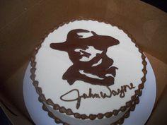 Over the Top Weddings - Cake Index...John Wayne!!