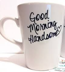 """diy gifts, I think I might do this for the morning after the wedding! """"Good morning husband"""""""