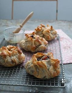 Quick & Easy Vegetarian Recipes - Black Bean, Feta and Tomato Filo Pies - Click Pic for 21 Healthy Vegetarian Recipes