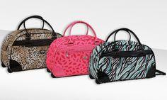 Gloria Vanderbilt Wheeled Bag | Groupon Goods