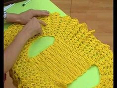 Tutorial Bolero Crochet o Ganchillo en Español - YouTube