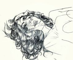 """""""Christine Wu (Asian-American, based in Los Angeles, CA, USA) - Float, 2013 Drawings """" Christine Wu, Portrait Sketches, Asian American, Red Lipsticks, Double Exposure, Abstract Expressionism, Bellisima, Art Inspo, Character Design"""
