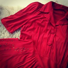 """From my private collection- #vintage #nylon #dress #circa1970s"""