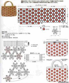 Borse e pochette fai da te 8 schemi crochet gratis. Schemi per creare borse e pochette all'uncinetto.