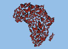 I love Africa and butterflies