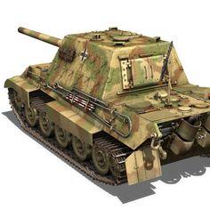 SD.KFZ 186 Jagdtiger - Hunting Tiger