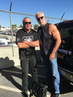 """""""Heading to Atlanta to drop off the Bad guy Great catching up with my brother last night. To the sea 4 me"""" Scott Hall, Adam Rodriguez, Kevin Nash, Wrestling Superstars, Big Daddy, New World Order, Real Man, Atlanta, The Outsiders"""
