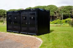 Fashiontoilet mobile bathrooms rentingforevents - Shipping container public bathroom ...