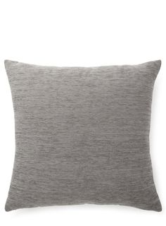 Slate Plain Chenille Cushion - BHS