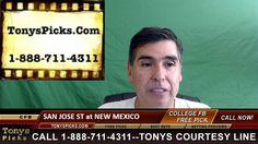San Jose St Spartans vs. New Mexico Lobos Pick Prediction College Footba...