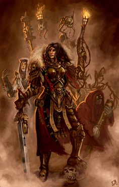 Ordo Hereticus Inquisitor with retinue by Vanagandr on DeviantArt