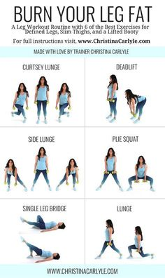 Leg workout routine for women & Leg workout & Home Workout & Home Workout form women & Leg exercises & Christina Carlyle The Best Leg& The post The Best Leg Workout For Women to Lose Leg Fat appeared first on Shane Carlson Fitness. Workout Routines For Women, Fitness Routines, Fitness Workouts, Ab Workouts, Outer Thigh Workouts, Hip Slimming Exercises, Exercises For Thighs, Back Workouts For Women, Arm Exercises Women