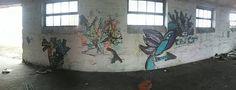 Tng stencil street art
