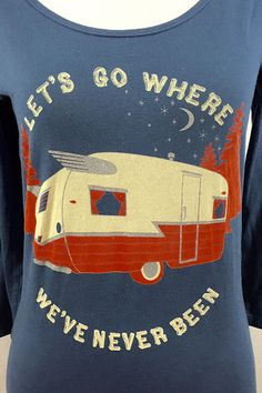 Hit the road in Our Awesome Adventures T-Shirt. #madeinusa #roadtrip