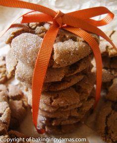 Molasses Spice Cookies | Baking in Pyjamas