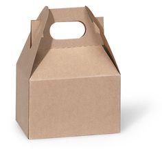 Mini Tote Paper Box, Kraft brown, Wedding, Birthday, Bridal Shower, Baby Shower Party favors on Etsy, $0.99
