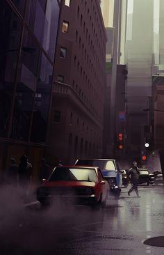 Michał Sawtyruk - Cityscape on Behance