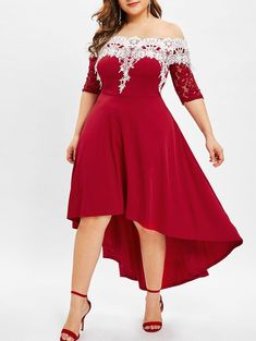 bcf1e42866 Competitive Red 2X Dresses online