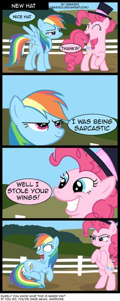 my little pony comics - Google Search im guessing  its because  pinkie was originally  a pegasus