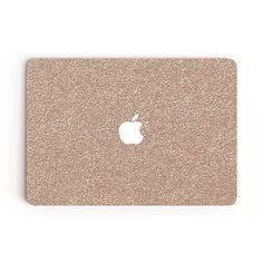 Rosé MacBook Skin Rose Gold Glitter MacBook Air