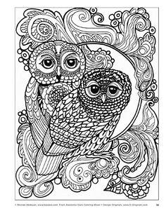 Resultado de imagen de colored owl pictures