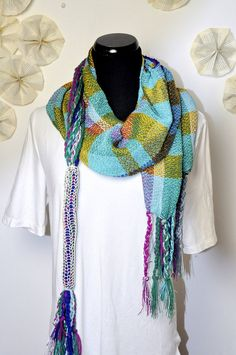 perfect scarf to add a pop of color to your outfit