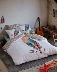ESSENZA Indy  | CASUAL BOHO STYLE BEDROOM. www.essenzahome.nl
