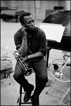 Miles Davis in 1958. DENNIS STOCK / MAGNUM PHOTOS via NYT